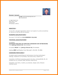 11 Free Simple Resume Format Download Marlows Jewellers