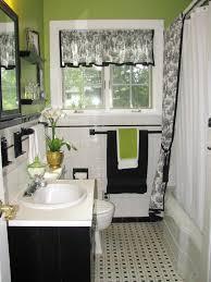 Black And White Bathroom Decor Black And White And Pink Bathroom Decor Walls Painted Of White