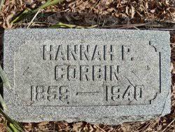 Hannah Priscilla Day Corbin (1859-1940) - Find A Grave Memorial