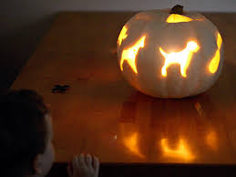 cookie cutter pumpkin carving with kids