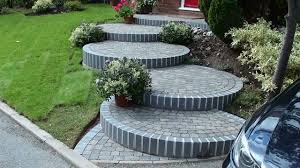 Small Picture landscaped steps Steps and Garden Landscaping Path in