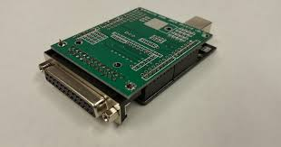 grbl to db25 cnc shield with arduino uno r3 by ron on tin