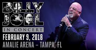 Billy Joel Tampa Seating Chart Billy Joel Returns To Tampa At Amalie Arena On February 9
