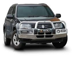 Suzuki Grand Vitara ECB Alloy Bullbar Nudge Bars Bull Bars Series ...