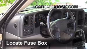 interior fuse box location 2000 2006 chevrolet tahoe 2005 interior fuse box location 2000 2006 chevrolet tahoe