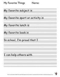 my favorite things worksheet from lesson planet esl ideas  my favourite holiday essay education world student writing activity my favorite things