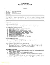 How To Write Cpr Certification On Resume Sample Resume Teachers Aide