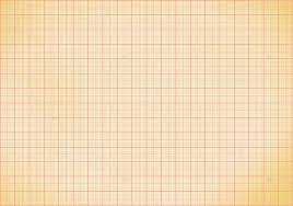 Blank Millimeter Old Graph Paper Grid Sheet Background Or