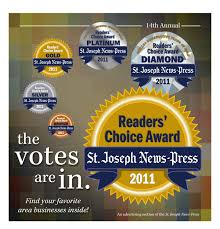Readers' Choice Awards St. Joseph News Press 2011 by NPG Newspapers - issuu