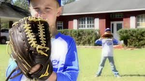 baker glass baseball commercial