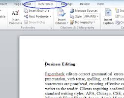Apa Word Doc Microsoft Bibliography Builder Word 2010