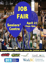 What Happens At A Job Fair Cariboo Politics Quesnel Job Fair Happens Today