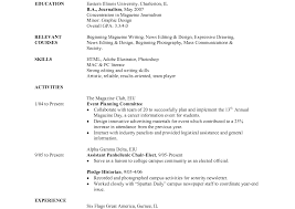 Cover Letter For Sorority Resume Journalism Resume Is Lovely Ideas Which Can Applied Into Your 98