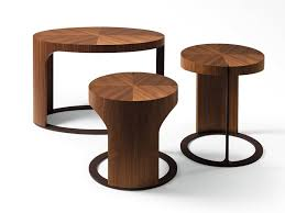 giorgetti ling round coffee table round wooden coffee table