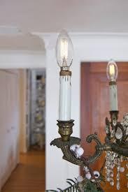 repaired chandelier socket