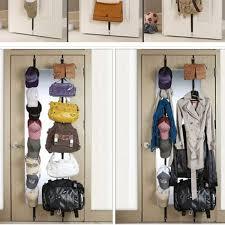 Door Hanging Coat Rack Interesting 32PCS Cap Rack Over The Door Hanger Purse Clothes Hat Storage Fits