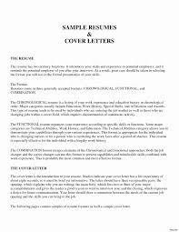 Cover Letter Resume Sample Inspirational High School Student Cover