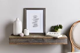 build your own barnwood floating shelves