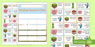 Reading Sticker Chart Ks1 Block Adventurers Themed Reading Sticker Reward Charts