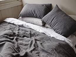 gray linen duvet cover arlene designs pertaining to popular home linen duvet cover queen prepare