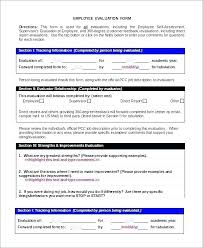 Employee Goals And Objectives Free Template Goal Setting For