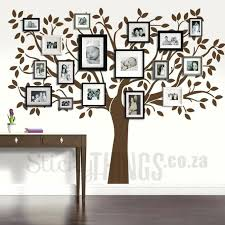 family tree wall mural family tree wall art decal diy family tree wall mural