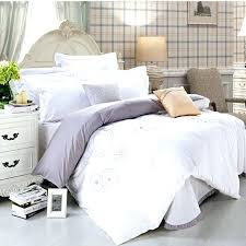 White Comforter Bed In A Bag White Bed Quilt King White Double Bed ... & White Comforter Bed In A Bag White Bed Quilt King White Double Bed Duvet  Covers Solid Adamdwight.com