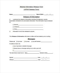 Medical Authorization Form Template | Nfcnbarroom.com