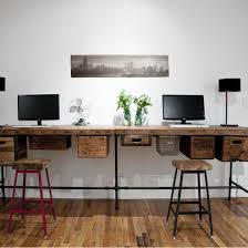long office tables. industrial long desk google search office design tables