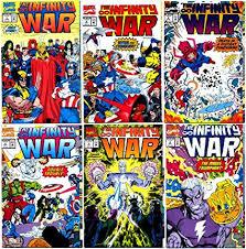 Infinity War Comic Thanos Amazoncom Infinity War 16 Complete Limited Series marvel Comics 1992