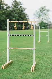 Wooden Ladder Ball Game Interesting Outdoor Games DIY Ladder Toss You Can Take To The Park