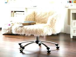 fuzzy office chair white fur desk chair white faux fur office chair concept design for fur