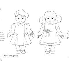 American Girl Doll Coloring Page Girl Doll Coloring Pages Girl Doll