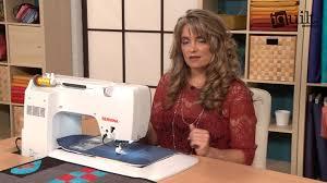 Gina Perkes - Ruler Work on a Domestic Machine - YouTube &  Adamdwight.com