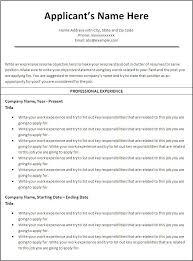 Effective Resume Templates Custom Effective Resume Template Effective Resume Samples Resume Templates