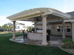 solid roof patio cover plans. Brilliant Plans Combination Style Solid And Lattice Patio Covers For Roof Cover Plans N