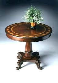 foyer round table grand height