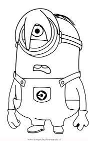 Disegno Minions18 Personaggio Cartone Animato Da Colorare