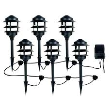 wired led landscape lights low voltage landscape lighting kits led wire size for landscape lights