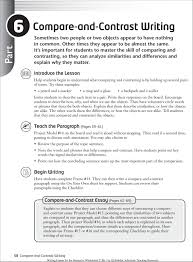 Writing a Compare and Contrast Paragraph   YouTube Pinterest