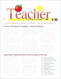 School Newspaper Template Publisher Free School Newsletter Templates For Publisher Elsolcali Co