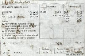 Payment Advice Slip Inspiration Strike Pay Slip Dec 48 Stn Officer's Wage Slip The F Flickr
