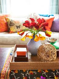 Decorative Trays For Living Room Styling Tips for Decorating with Trays 29