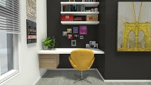 simple home office desk. Built-in Home Office Desk Simple
