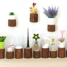 wall mounted flower pot holder amazing handmade natural fir wood wall mounted flower pots trays outdoor