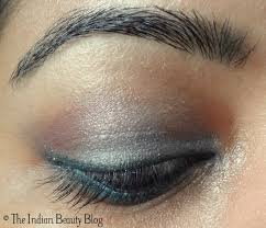 silver pink eye makeup 2