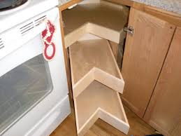 Image Of: Kitchen Corner Cabinet Storage Solutions Regarding Corner Cabinet  Storage Unique Kind Of The