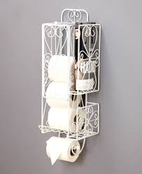 Toilet Roll Holder Magazine Rack Toilet Tissue Holder With Magazine Rack LTD Commodities My Bed 93