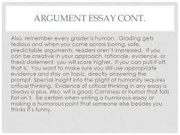 the argument essay ppt video online 16 argument
