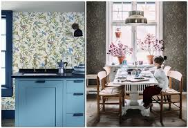 3 Kitchen Wallpaper Wall Covering Ideas In Interior
